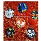 Decorazione chiudipacco sacchetto caramelle HALLOWEEN