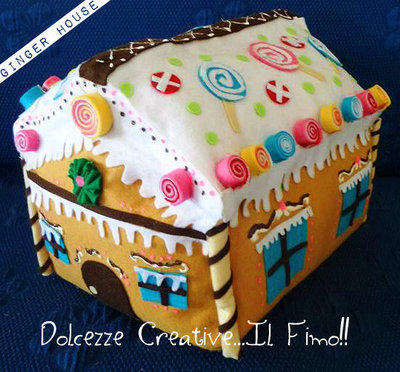Black Friday Cuscino Casetta di Mazapane idea regalo kawaii cute Ginger house