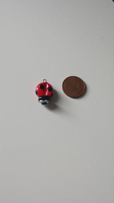 Ciondolo coccinella
