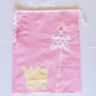 La sacca per la scuola per la vostra principessa delle fate: pratica, resistente e super-carina!