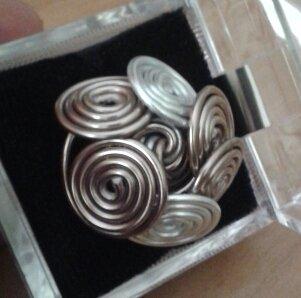 anello spirali alluminio