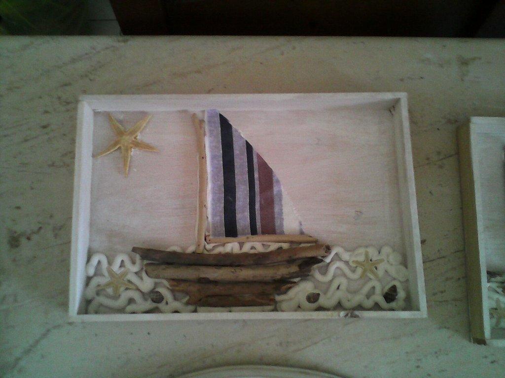 quadro barca in legno del mare - Per la casa e per te - Produzioni ...  su MissHobby