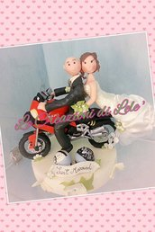 Topper Cake Moto