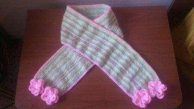 Linea arcobaleno   sciarpa