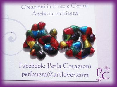 Orecchini a perno Fantasy - Magika Friendly Plastic