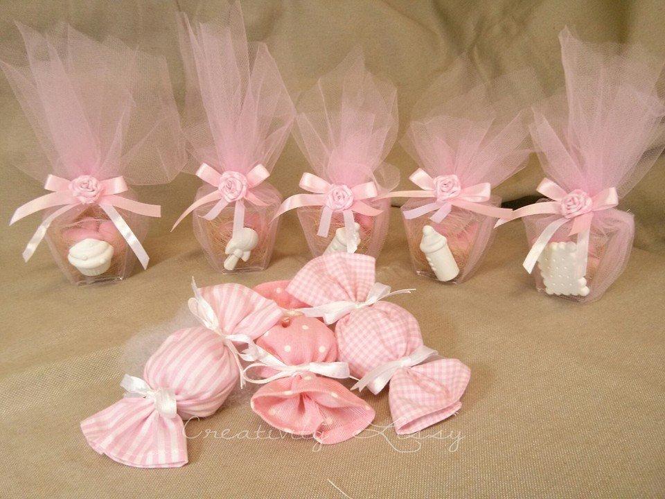 Caramella in stoffa porta confetti come cadeaux, bomboniera nascita/battesimo
