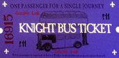 Biglietto Autobus Nottetempo Harry Potter