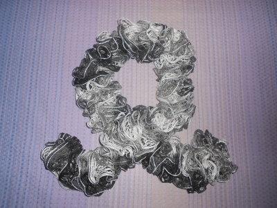 Sciarpa Crochet - Maglia Traforata