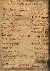 Lista di Firme dell'Esercito di Silente Harry Potter