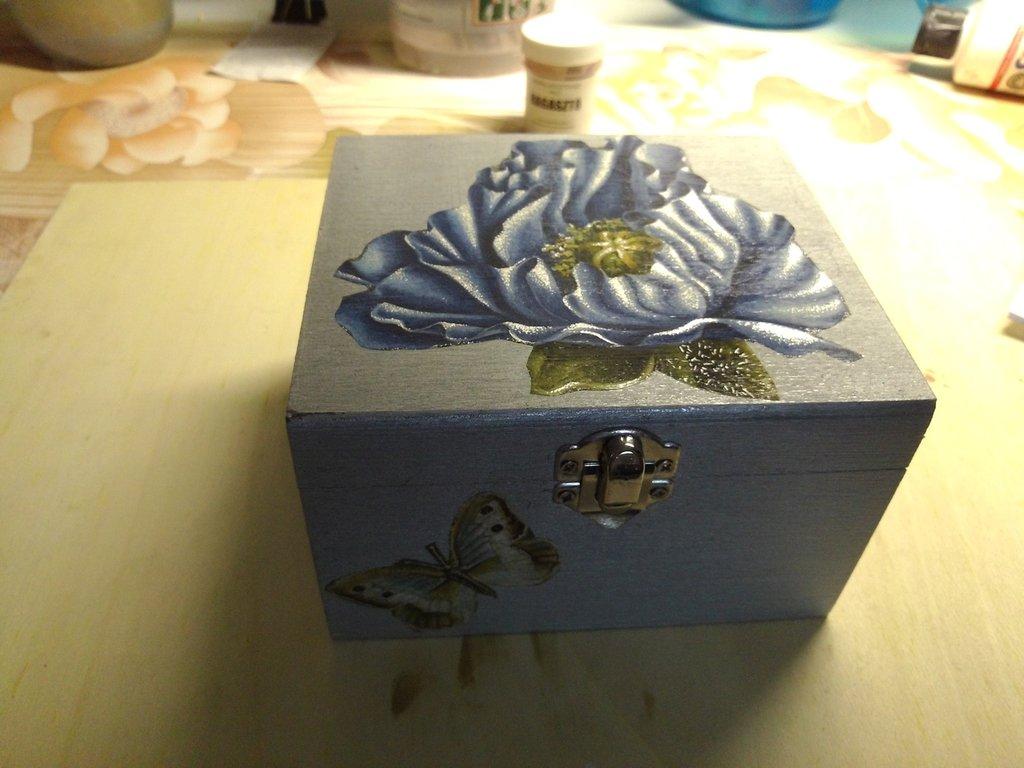 Bauletto argento