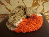 Collo/foulard ad anello