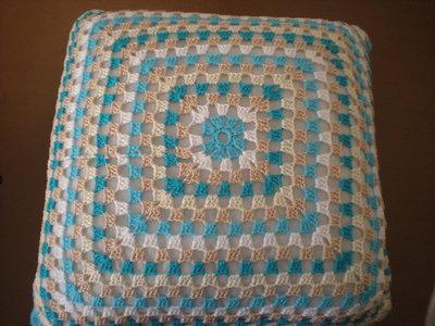 Cuscino turchese