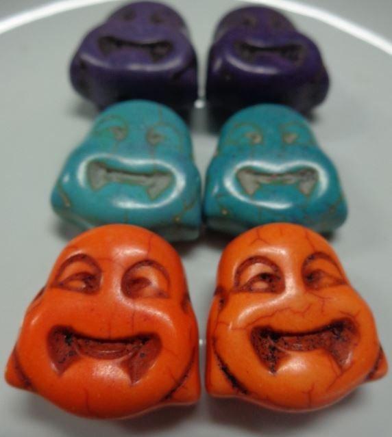 6 Perline Budda 3 colori