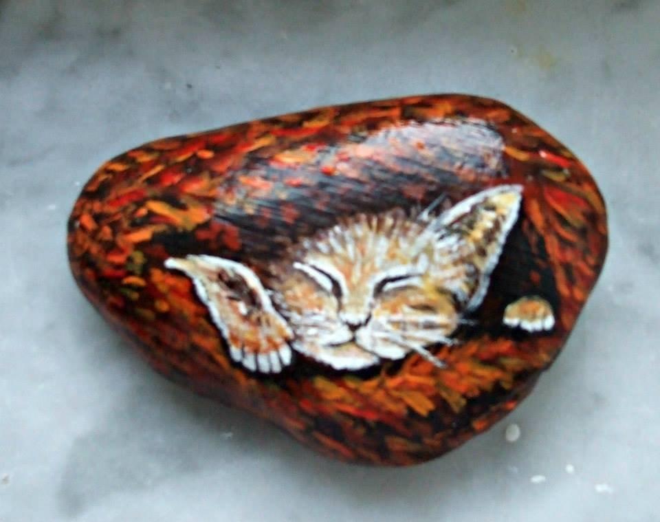 pietra dipinta