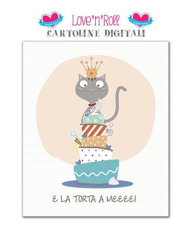 Biglietto di compleanno digitale per maschietti
