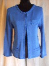 giacca  donna  cotone o lana maglia