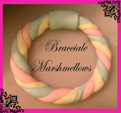 Bracciale marshmellows