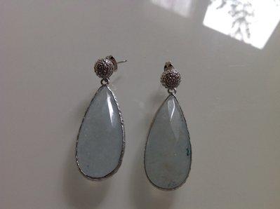 Orecchini a goccia in argento
