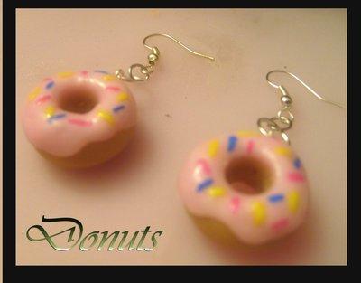 orecchini ciambelle donuts