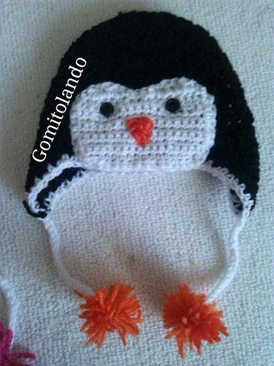 Cappello Pinguino ad Uncinetto