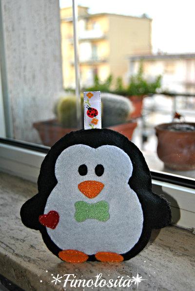 Peluche morbido pinguino
