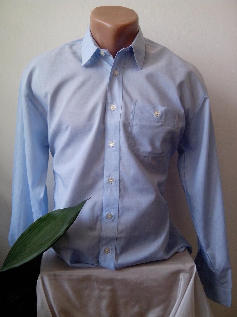 Camicia blu Mens