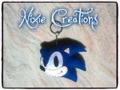 Portachiavi Sonic in Pannolenci