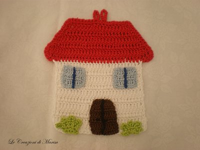presina casa dolce casa uncinetto