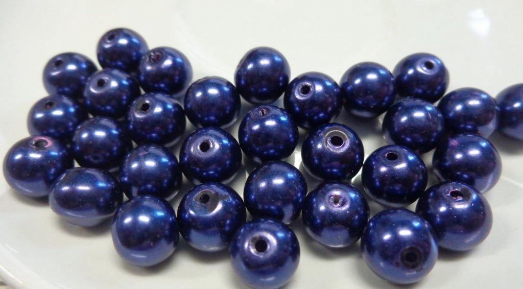 30 Perle color Mirtillo