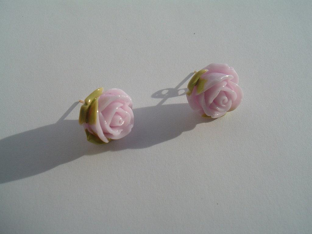 Orecchini Petali di Rosa
