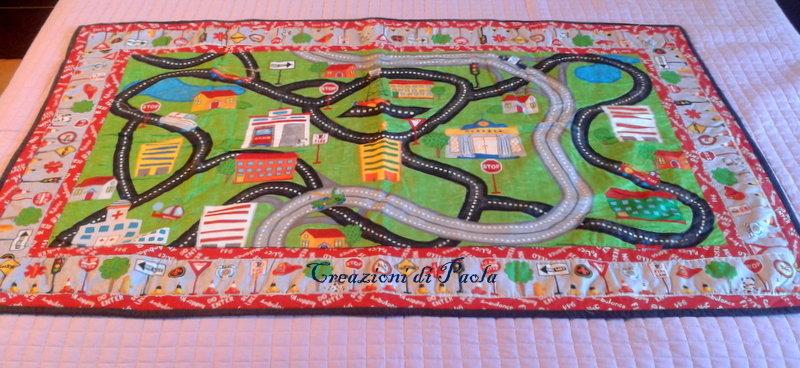 Quilt o tappeto gioco per bambino