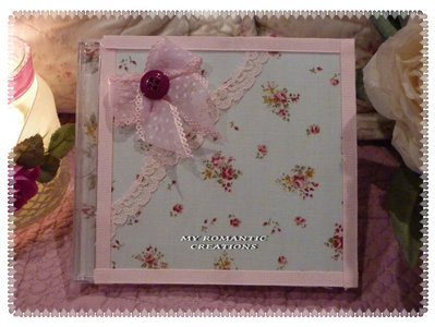 Custodia cd-dvd shabby.