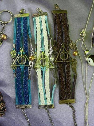 Bracciale I doni della morte - Harry Potter.