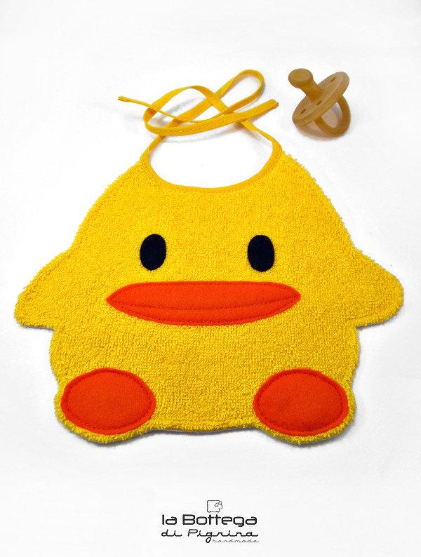 Bavaglino Paperotto giallo