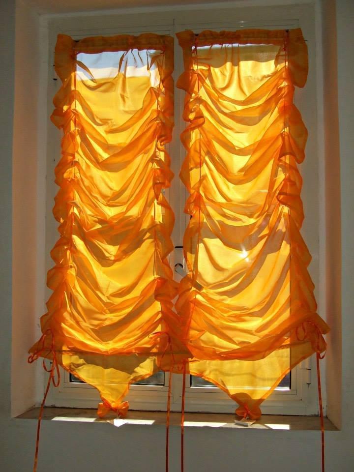 tenda arancio