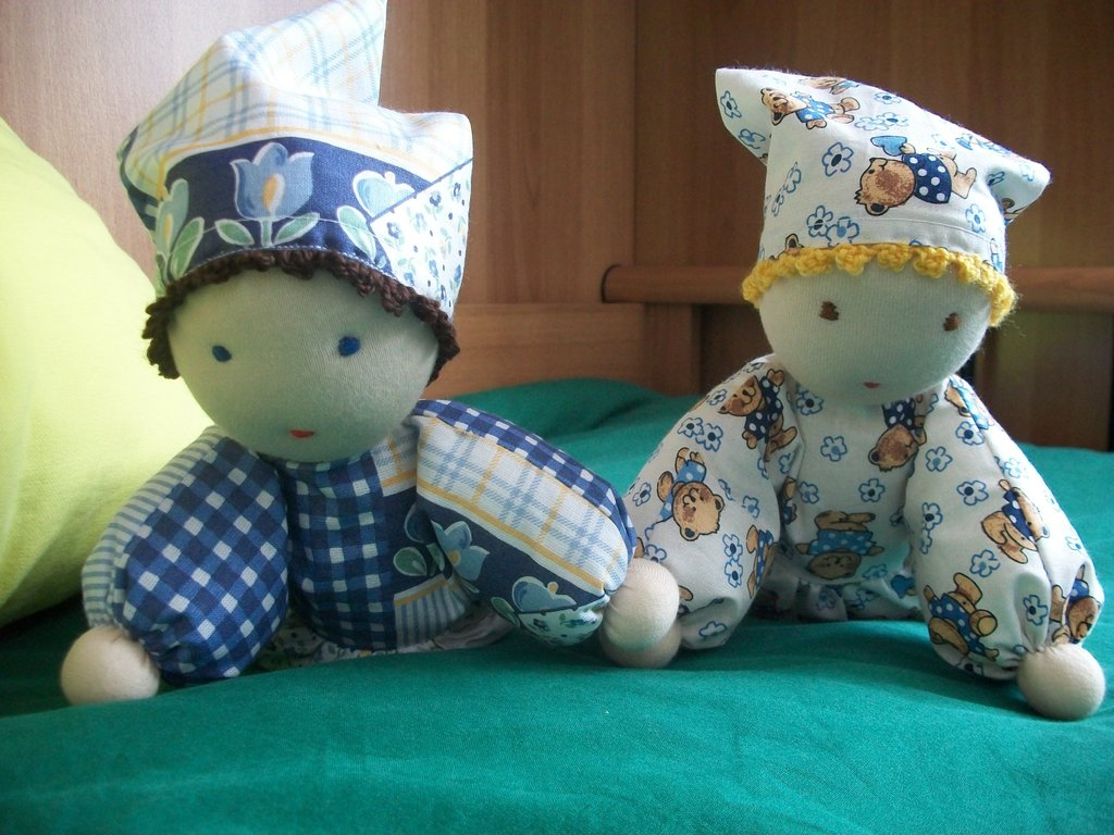 bambole in stoffa