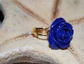 Anello Rosa Blu