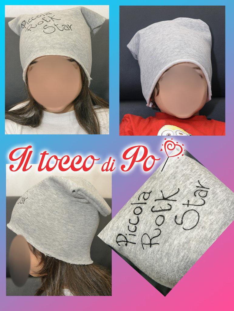 Caldo cappello in felpa, personalizzabile!