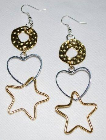 Orecchini Silver/Gold