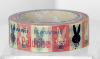 Washi Tape - Rabbit
