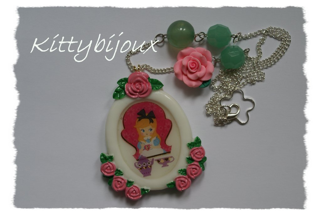 Collana Alice in Wonderland Rose