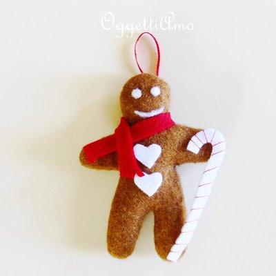 Biscotti in feltro 'Pandizenzero': gli addobbi in feltro per il vostro Natale!