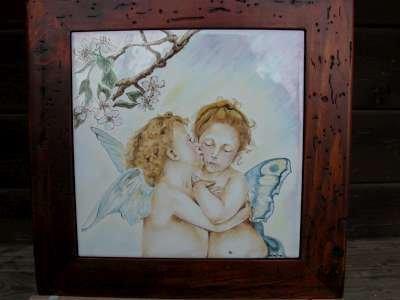 angeli bouguereau ceramica