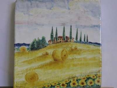 campagna toscana ceramica