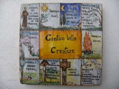 cantico delle creature san francesco
