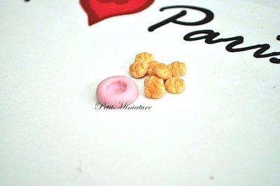 STAMPO BIGNE' 0,5mm ST020 in silicone flessibile 3d macaron miniature dollhouse charm kawaii fimo gioielli sapone resina gesso