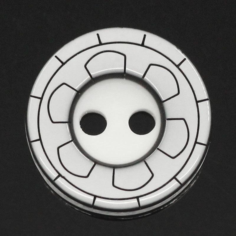 Set 8 bottoni - Curve