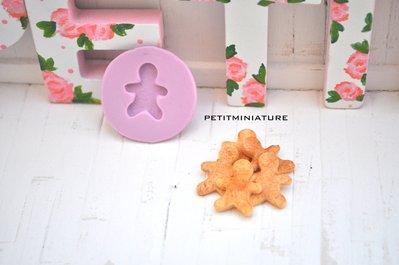 Stampo fimo gingerbread biscotto-ST043 Orecchini fimo gioielli handmade-Natale,bianco natale