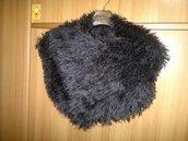 Sciarpa - Stola in calda lana pelliccia