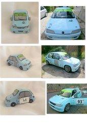 Modellino auto da corsa